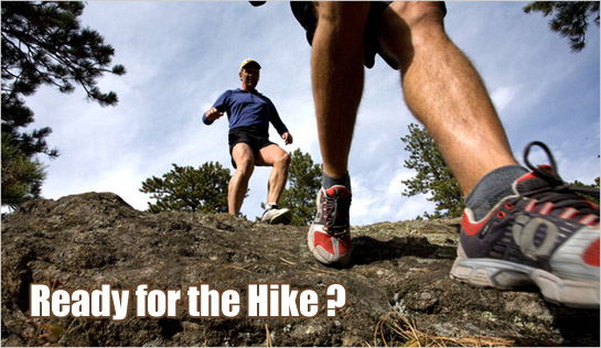 Then Make Sure You Have The Correct Hiking Shoe