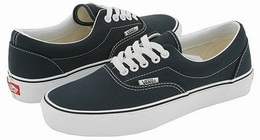 Description: Vans Era® Core Classics is a classy skate shoe with lace up.  The front of upper is double stitch for maximum reliability and style.