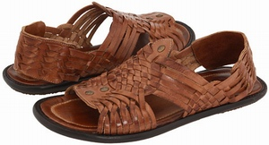Frye Lawson Huarache Sandals Vegetable Tanned Leather