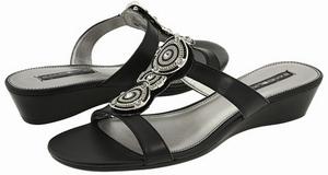 4b7c9d8ac Bandolino Feliciana Sandals - Covered Low Wedge - ShoesPreviews.com