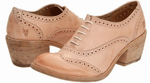 Frye Maggie Oxford Shoes - Wing tip